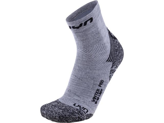 UYN Winter Pro Run Sokken Dames, grey/black
